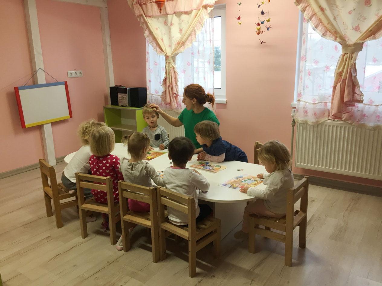 Частный детский сад-ясли в селе Подгорцы